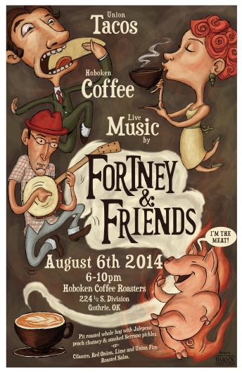 Fortney & Friends Poster RGB