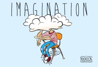 Imagination for blog