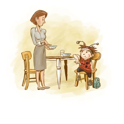 Lady Bug Illustration 3