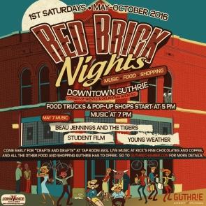 Red Brick Nights for SOCIAL MEDIA