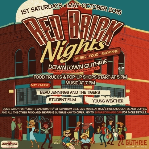 Red Brick Nights for SOCIAL MEDIA
