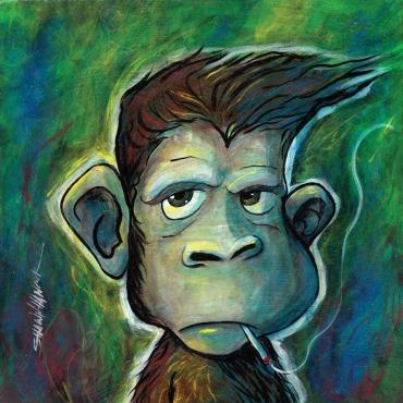naughty monkey 1 8x8 RGB