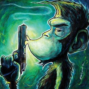 naughty monkey 2 8x8 RGB
